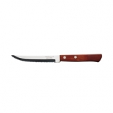 Tramontina Polywood Steak Knife Pointed Blade Red Handle 21cm