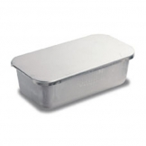 Baking Pan With Lid Aluminium 27.3x14.7x8.3cm (Sold Singly)