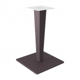 890 Riva Dining Table Base - Brown Wicker