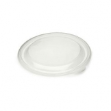 1 Litre Round PET Container Lid 150 Per Case