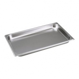 Castle Chafer 1/1 GN Food Pan 80mm Deep Stainless Steel