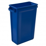 Svelte Bin with Venting Channels 87L, Blue (Sold Singly)