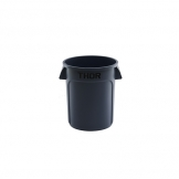 Round All Purpose Bin 75L Grey (Sold Singly)