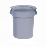 Brute Round Containers Grey 121ltr (Sold Singly)