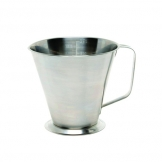 Genware Stainless Steel Graduated Jug 1ltr (Sold Singly)
