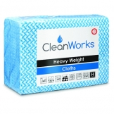 Heavy Weight Hygiene Cloth Blue 80gsm (25 pcs)