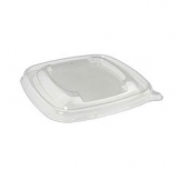 375-500ml Deep Square Bagasse Bowl Lid 500 Per Case