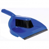 Dustpan And Brush Set Soft Brush Blue (Sold Singly)
