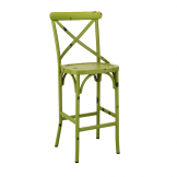 Cafe Bar Stool - Green