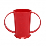 2 Handled Beaker Polycarb 26cl Red (Sold Singly)