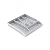 Cutlery Tray Plastic Grey (Sold Singly)