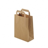 Revive Brown Medium Recycled Paper Bag