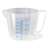 Measuring Jug Polypropylene 0.5ltr (Sold Singly)