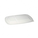 Rectangular Container PET Lid 2 Comp. 300 Per Case