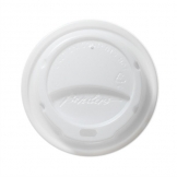 White Domed Lids For Benders 340ml and 455ml Disposable Cups (Pack of 1000)