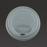 Vegware Compostable Coffee Cup Lids 340ml / 12oz and 455ml / 16oz (Pack of 1000)