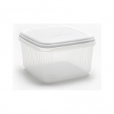 5ltr Squ Food Saver White Lid (Sold Singly)