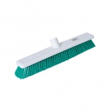 Abbey Hygiene Broom Head Stiff 45cm Green (Sold Singly)