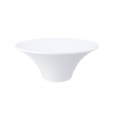 Mirage Oasis Flared Bowl 24cm White (Sold Singly)