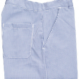 Brigade Chef Clothing Brigade Chef Trousers Small Blue/White Check - Size S