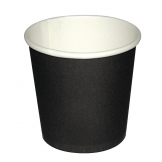 Fiesta Disposable Espresso Cups Black 112ml / 4oz x 50 (Pack of 50)