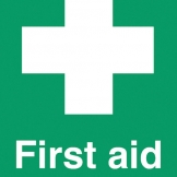 Safety Sign First Aid Sign (Sold Singly)