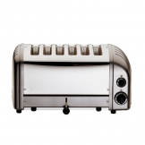 Dualit 60156 6 Slot Vario Toaster -Metallic Charcoal (Sold Singly)