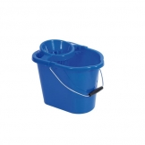 Mop Bucket With Wringer Blue 12ltr (Sold Singly)