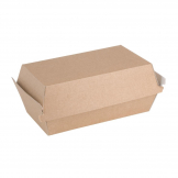 Fiesta Green Compostable Kraft Food Boxes Small 172mm (Pack of 200)