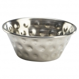 1.5oz Stainless Steel Hammered Ramekin (Sold Singly)