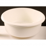 Plastic Bowl Round Cream (Sold Singly)