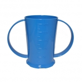 2 Handled Beaker Polycarb 26cl Blue (Sold Singly)