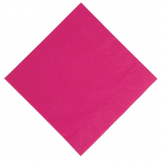 Duni Compostable Dinner Napkins Fuchsia 400mm (Pack of 1000)