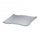 Mirage Martello Grey Square Platter 28cm (Sold Singly)
