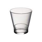 Whisky Style Tumbler 255ml Clear (Sold Singly)