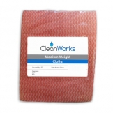 Cleanworks General Purpose Cloth MDW Red (50 pcs)