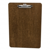 A4 Wooden Clipboard 240 x 340 4mm Dark Oak (Sold Singly)