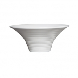 Mirage Oasis Flared Buffet Bowl 35cm - White (Sold Singly)