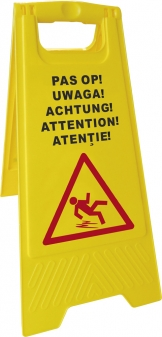 Hendi Wet floor sign