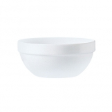 Plain White Opalware Stacking Bowl 13cm (36 pcs)