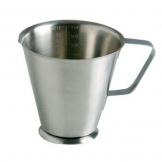 Measuring Jug Stainless Steel 1ltr (Sold Singly)