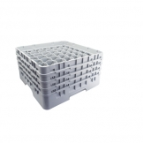 Cambro Camrack Glass Rack 49 Compartments Grey (Sold Singly)