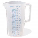 Measuring Jug Polypropylene 2.2ltr (Sold Singly)