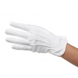 Dennys White Heat Resistant Gloves (2 pcs)