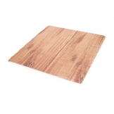 Mirage Strata - 30cm Square Platter - Teak (Sold Singly)