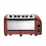 Dualit 60154 6 Slot Vario Toaster - Red (Sold Singly)