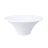 Mirage Oasis Flared Bowl 28cm White (Sold Singly)