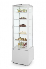 Hendi Refrigerated display cabinet 280L (white)