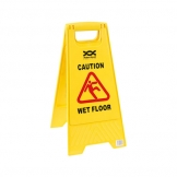 Warning Sign Folding Wet Floor (Sold Singly)