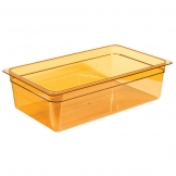 Gastronorm Container High Heat 1/1 150mm Amber (Sold Singly)